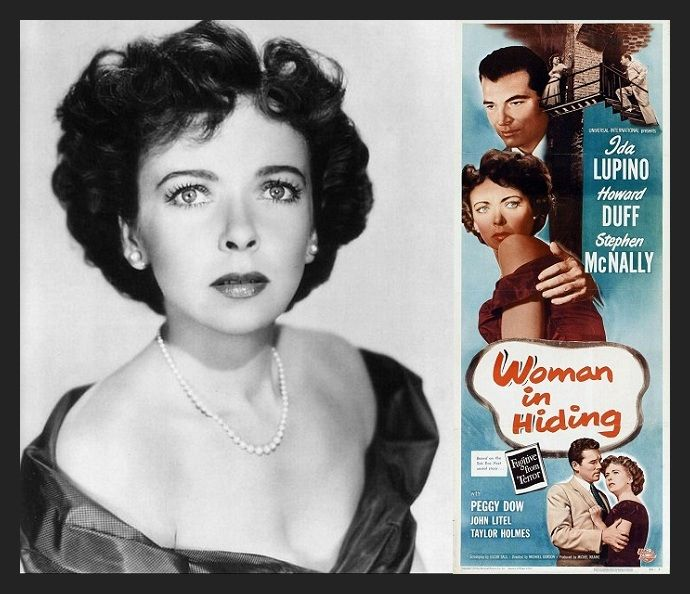 Ida Lupino en Mujer oculta (1950)