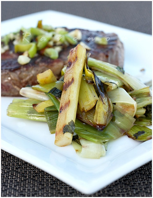 Grilled Leeks | Recipes | Pinterest