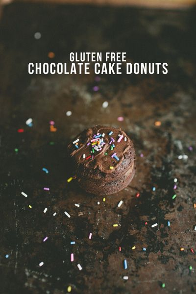 Harvest of Blessing | Gluten Free Chocolate Cake Donuts | http://www ...