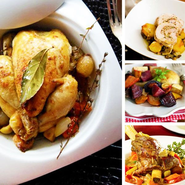 Holiday main courses meat and poultry for Dinner main course recipes