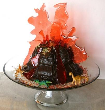 Volcano cake Play With Your Food Pinterest