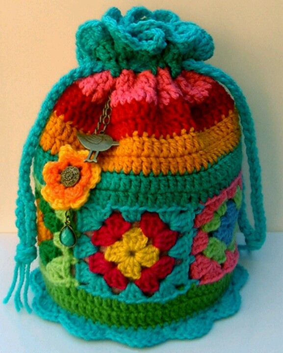 Cute crochet bag Crochet Pinterest