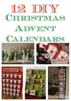 12 diy christmas advent calendars supercouponlady com