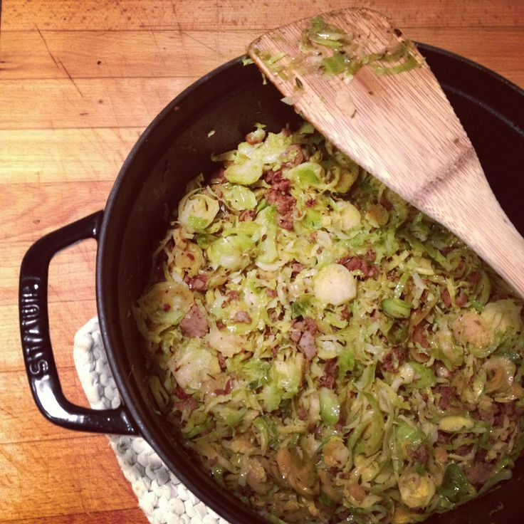Shredded Brussels sprouts recipe by Jamie Oliver