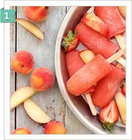 Boozcicles - Strawberry Peach Vodka Collins popcicles! Plus other ...