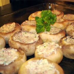 clam-stuffed mushrooms ~ Allrecipes.com