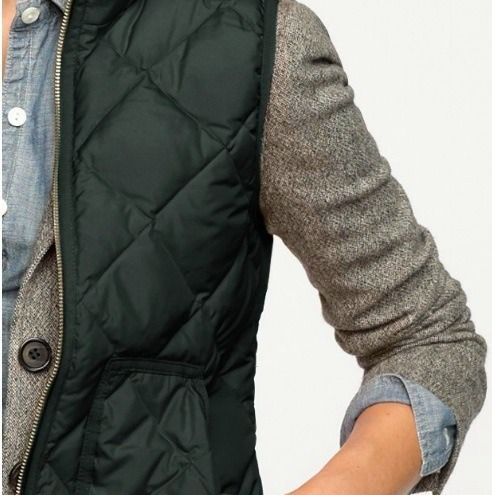 excursion vest + schoolboy blazer