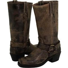 Frye Women's Veronica Back Zip Short Boot Round Toe Stone US