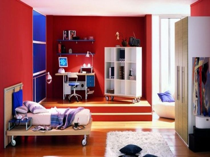 Cool Teenage Bedroom Ideas For Boys Kids And Teenage Bedroom Pint
