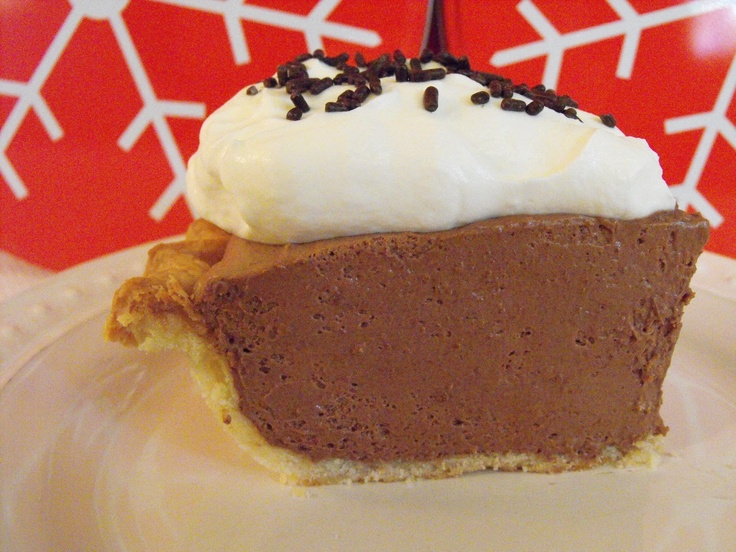 Chocolate Mousse Chiffon Pie | Recipes | Pinterest