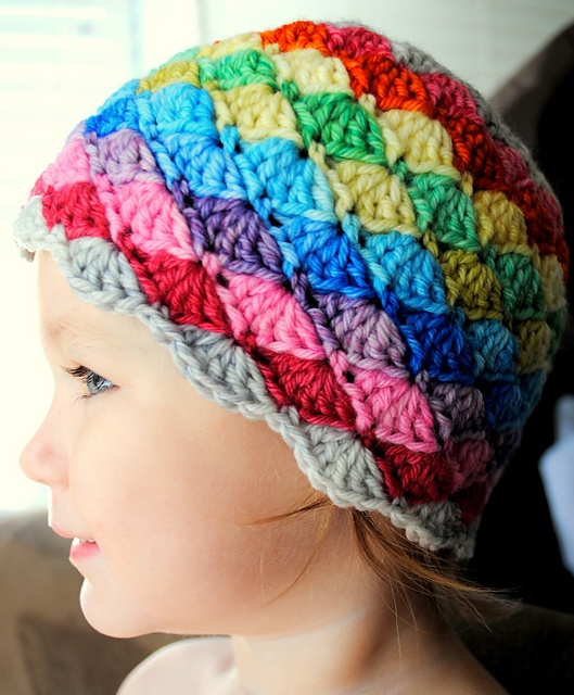 Ravelry: Darling Little Rainbow Hat pattern by Ashley Darling