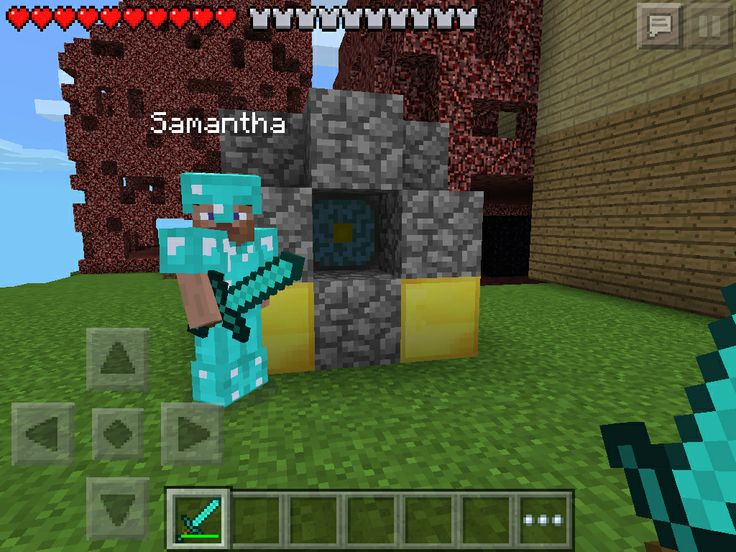how to make end portal work in minecraft pe