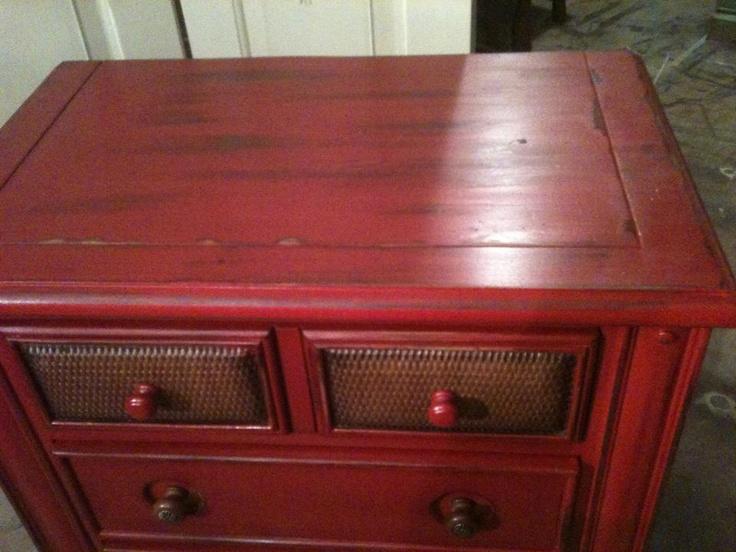 distressed red furniture google search makin stuff pinter