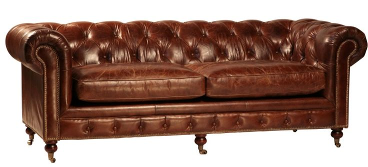 TANNER TUFTED LEATHER SOFA |