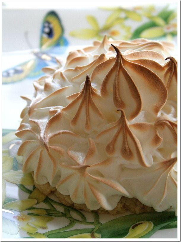 Freeform Lemon Meringue Tarts with Lavender Cardamom Crust by ...