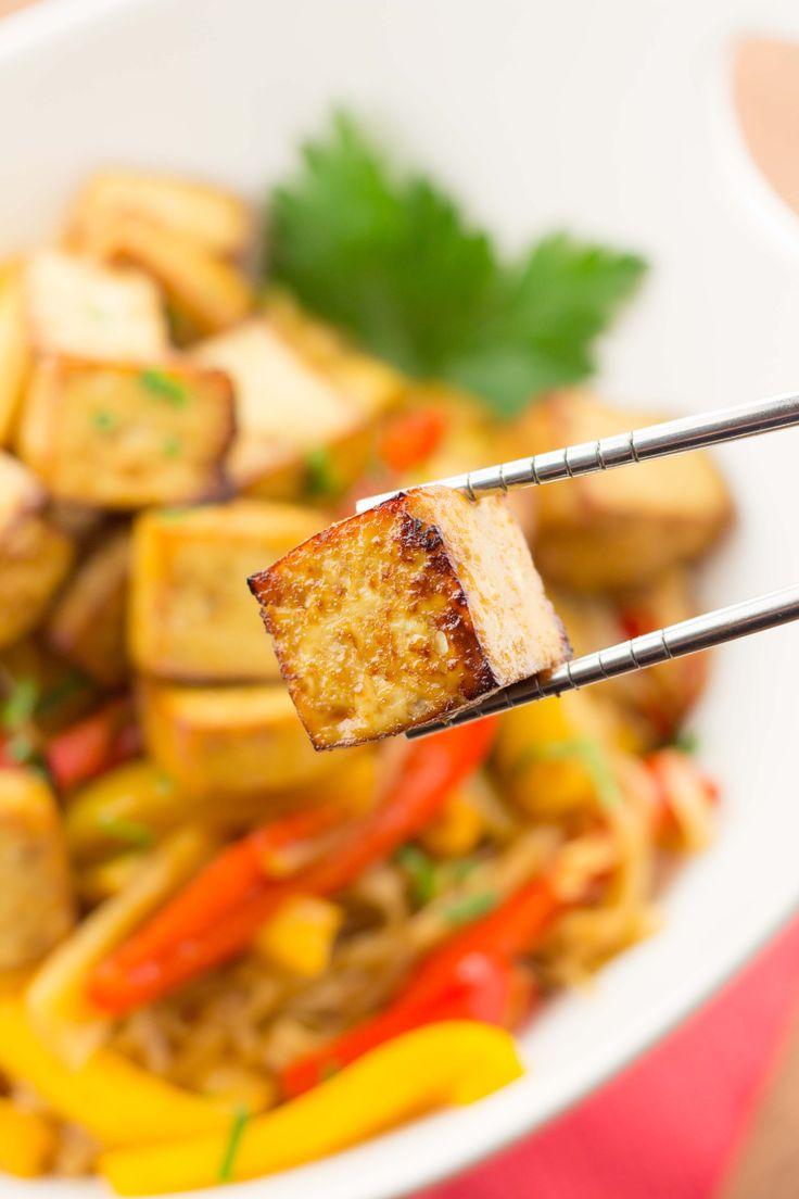 Easy Marinated Baked Tofu   Recipe