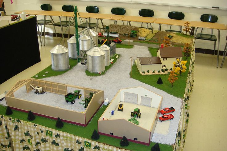 1 64 scale farm displays pictures to pin on pinterest for 1 64 farm layouts