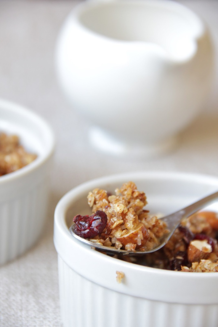 coconut almond cranberry granola | Gluten Free Breakfast, Lunch, and ...