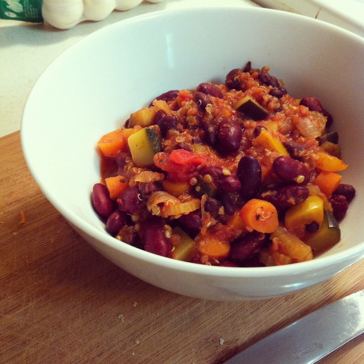 Vegetarian Quinoa Chili | from my blog | Pinterest