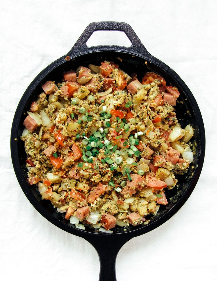 Green Eggs and Ham Scramble | Recipes: Breakfast & Brunch | Pinterest
