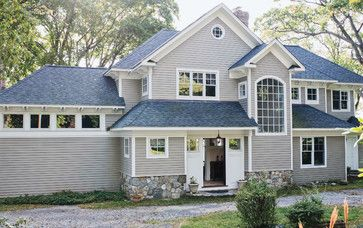 Best Grey House With Blue Roof Blue Roofs Pinterest 400 x 300