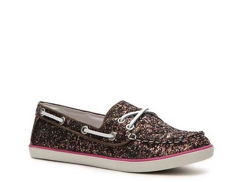 Glitter Boat Shoe Flats