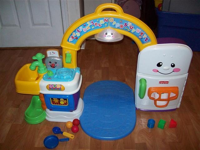 Fisher Price Laugh And Learn Kitchen 40 Lil Man Bellita 39 S Toybox