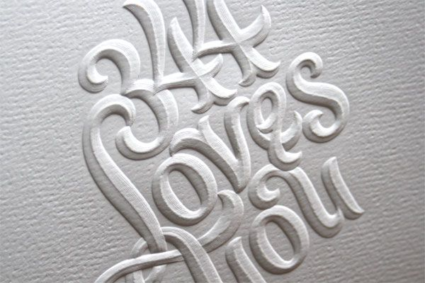 344 Loves You #typography