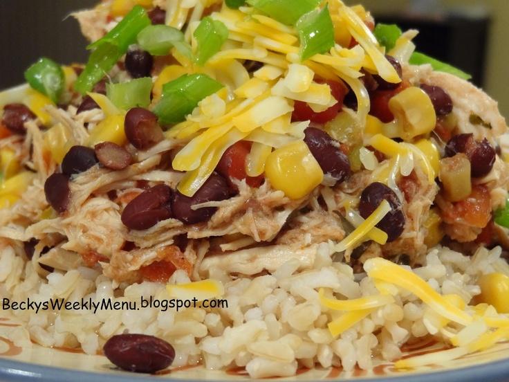 Crockpot Sante Fe Chicken | Must Try Recipes | Pinterest