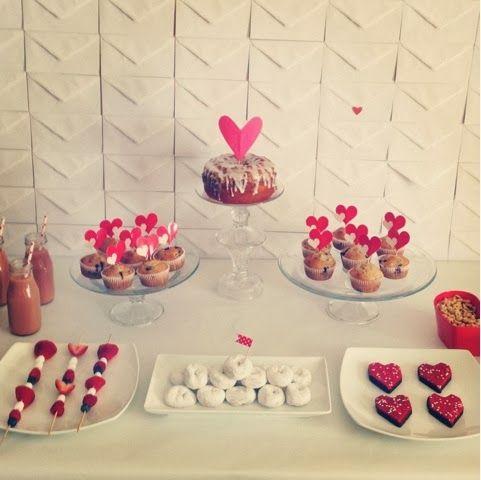 breakfast for valentine day