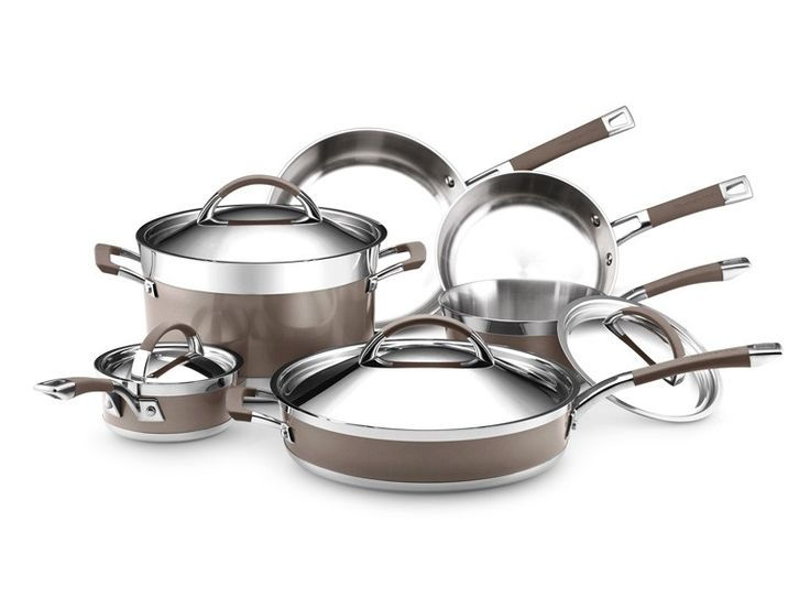 Kitchenaid 10 piece cookware set - Kitchen aid pan set ...