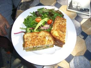 Grilled Sandwich: Butternut Squash, Pesto, Tomatoes, Caramelized ...