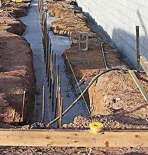 Shuttering Or Formwork In The Ground | Contracting | Pinterest