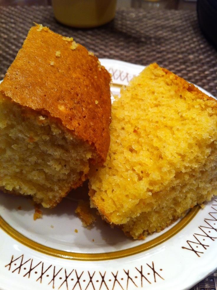 Nana's Recipe Box: Easy Sweet Cornbread | Cooking | Pinterest
