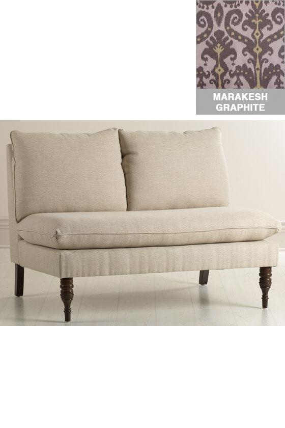 Wingback Settee Cottage Dining Room Marianne Simon Design Dining Room