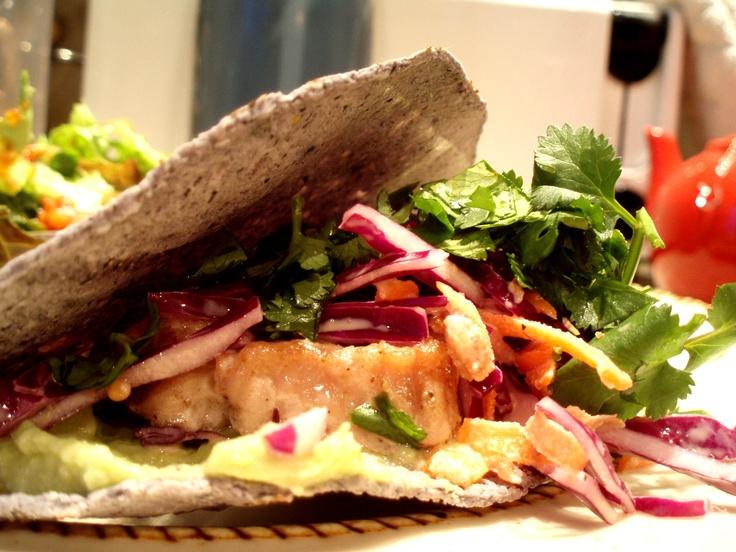 fish taco   cookin   Pinterest