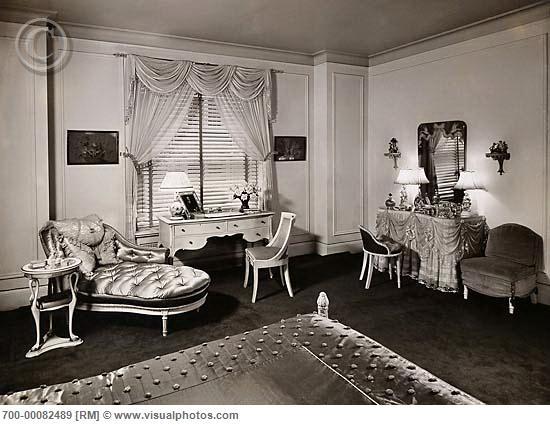 bedroom c. 1930 | My 1930's Dream Home | Pinterest