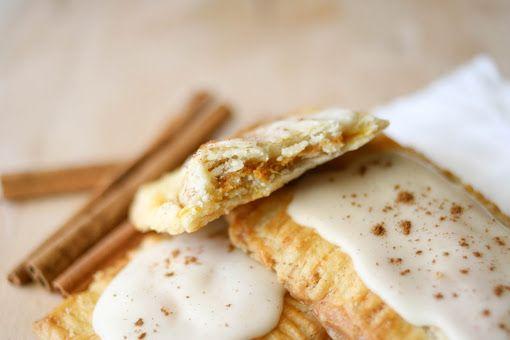 Pumpkin Pie Pop Tarts with Maple Glaze | Baking | Pinterest