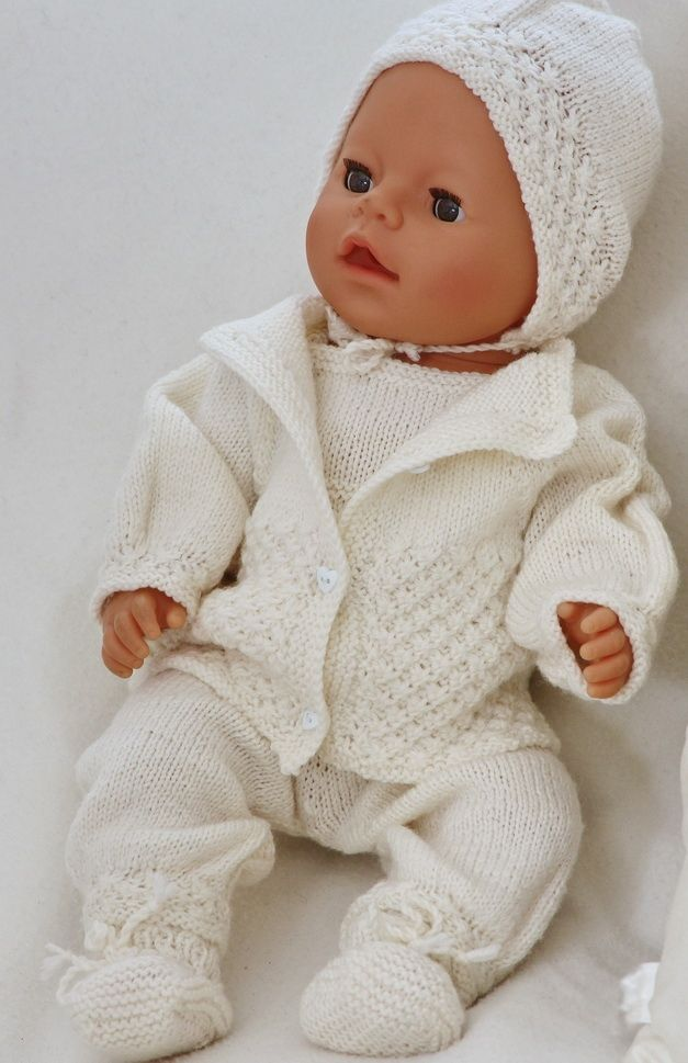 Knitting Patterns For Baby Born Doll : baby born knitting patterns All That Yarn/ Baby and Child Pintere?