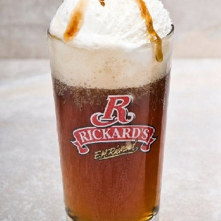 Ricard's red beer, ginger ale, french vanilla ice cream and caramel ...