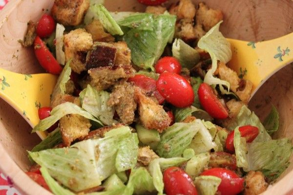 End of Summer Panzanella | Eat Your Greens | Pinterest