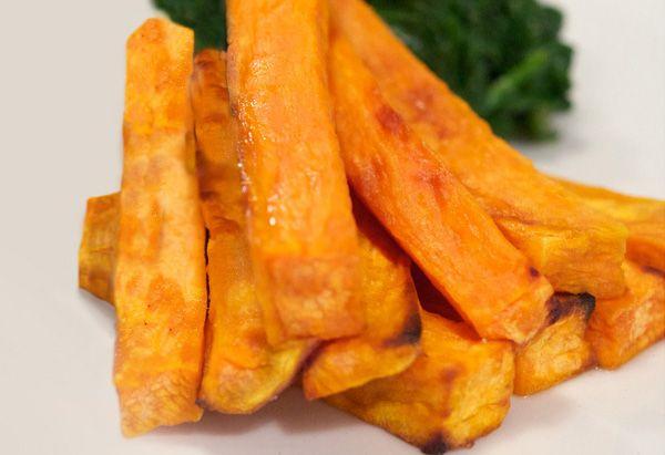Sweet & Spicy Sweet Potato Wedges