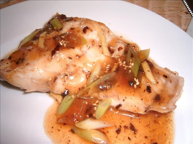 Steamed Sea Bass with Black Bean Sauce | Recipe