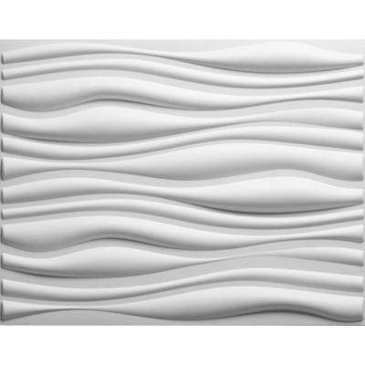... wall? threeDwall 32 sq. ft. Plant Fibers Wainscot Wall Panels-EKB-02