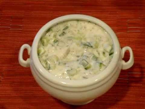 Mast-o Khiar (Cucumber Yogurt) | Num nums | Pinterest