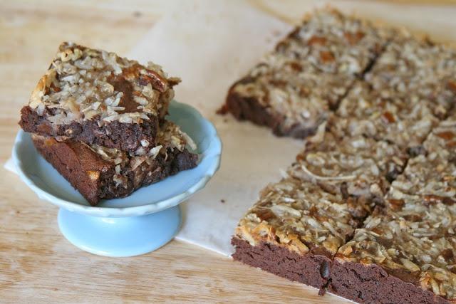 German Chocolate Brownies | Brownies & Bars | Pinterest