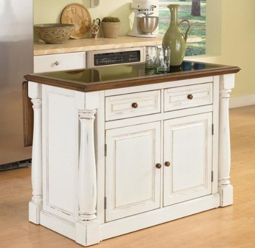 Home Styles 5021 94 Monarch Kitchen Island, Distressed Antique $859 95