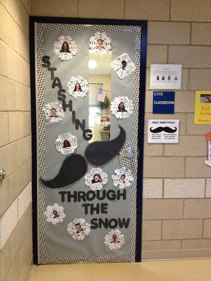 Winter Themed Classroom Door Decorations ~ Winter door decorations for classrooms just b use