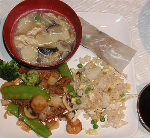 Chinese Sizzling Rice Soup Recipe — Dishmaps
