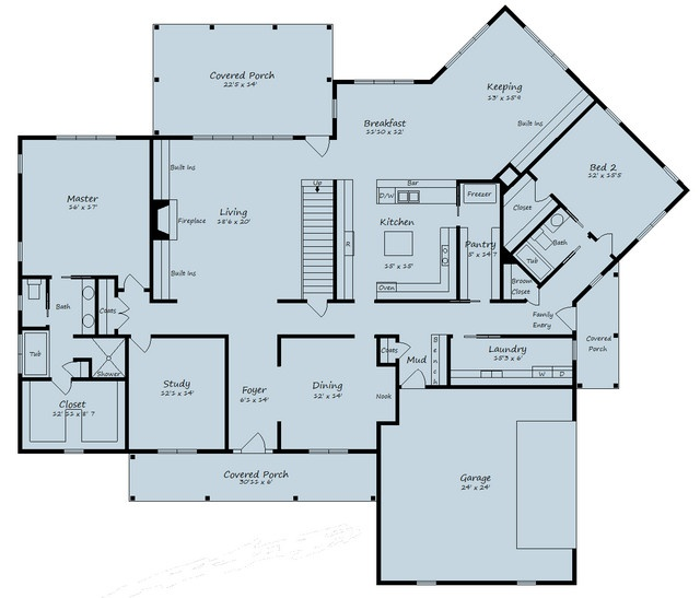 just over 3000 square feet house plans pinterest